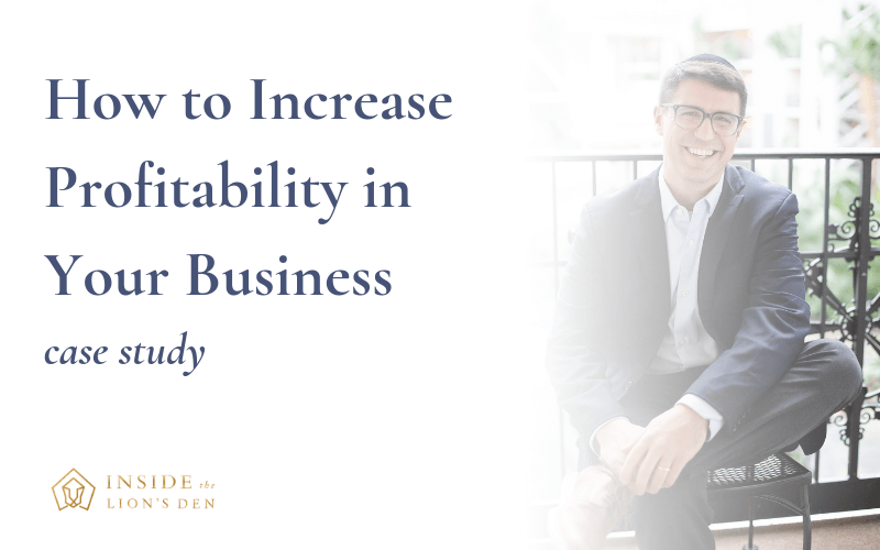 How to Increase Profitability in Your Business