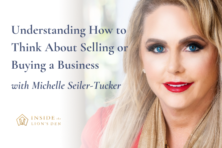 Understanding How to Think About Selling or Buying a Business with Michelle Seiler-Tucker